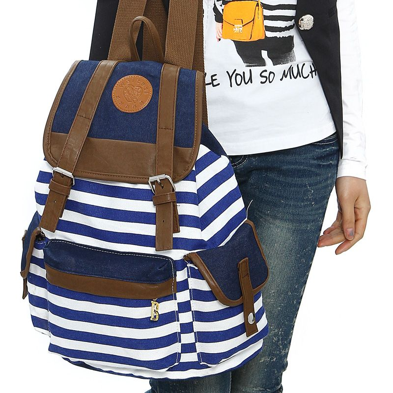 Girls Backpack School Bags Boys Rucksack New Stylish Unisex College Student Bags