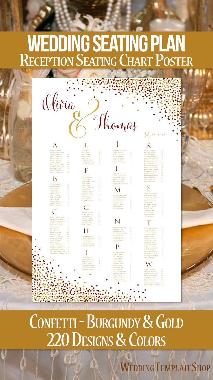 Wedding reception seating chart poster ideas  plans also rh pinterest