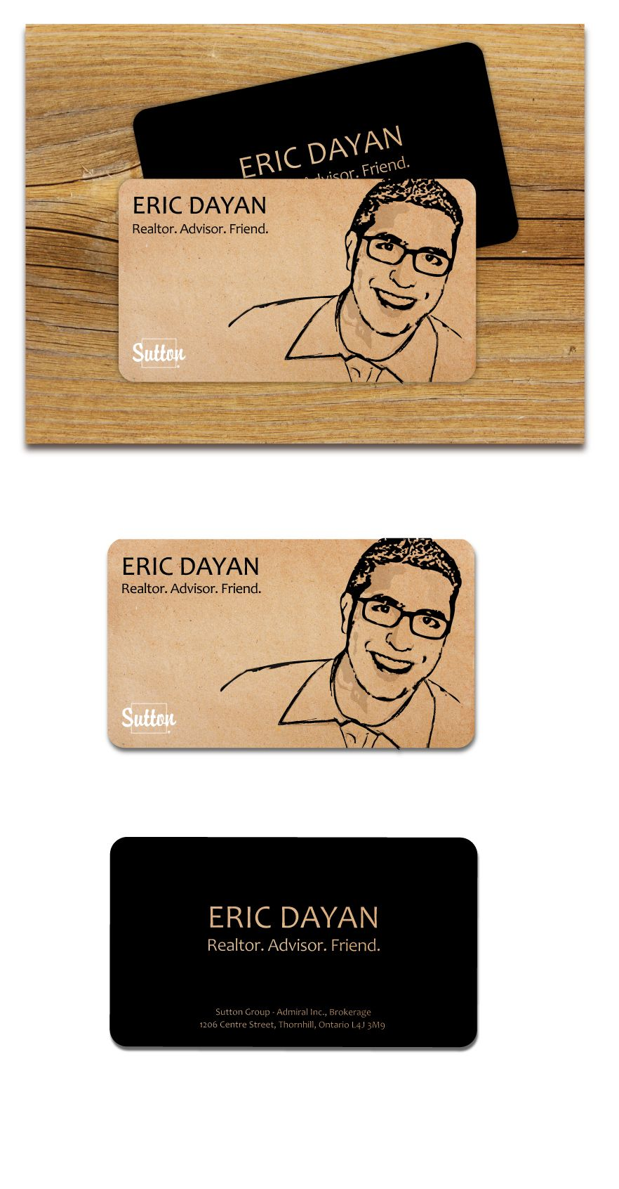 Eric dayan realtor business card on behance realtor business eric dayan realtor business card on behance reheart Image collections