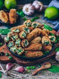 Photo of Vegan croquettes with spinach (gluten free) – Bianca Zapatka   Recipes