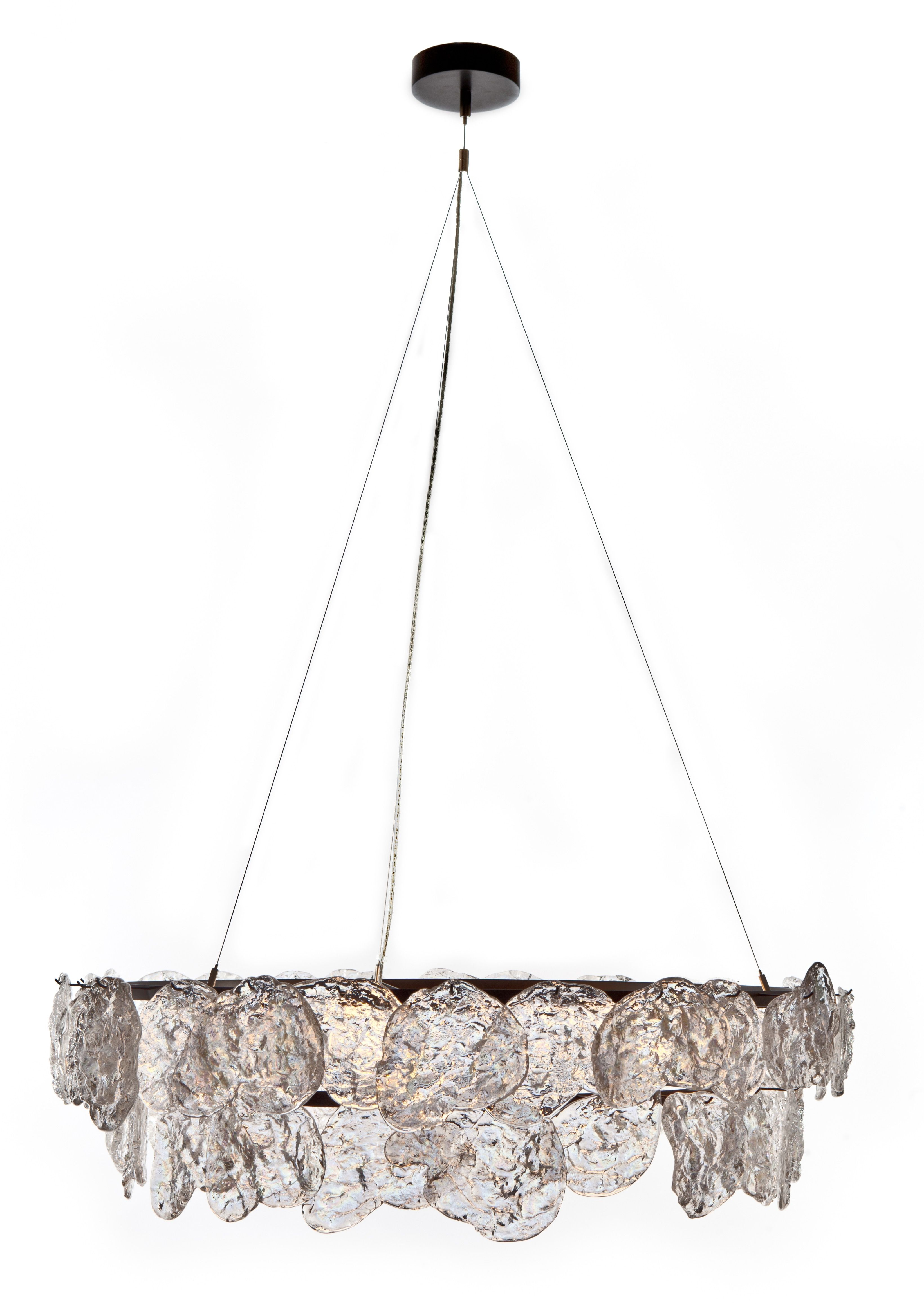 Buy Rock Edge Chandelier By John Pomp  Made To Order Designer