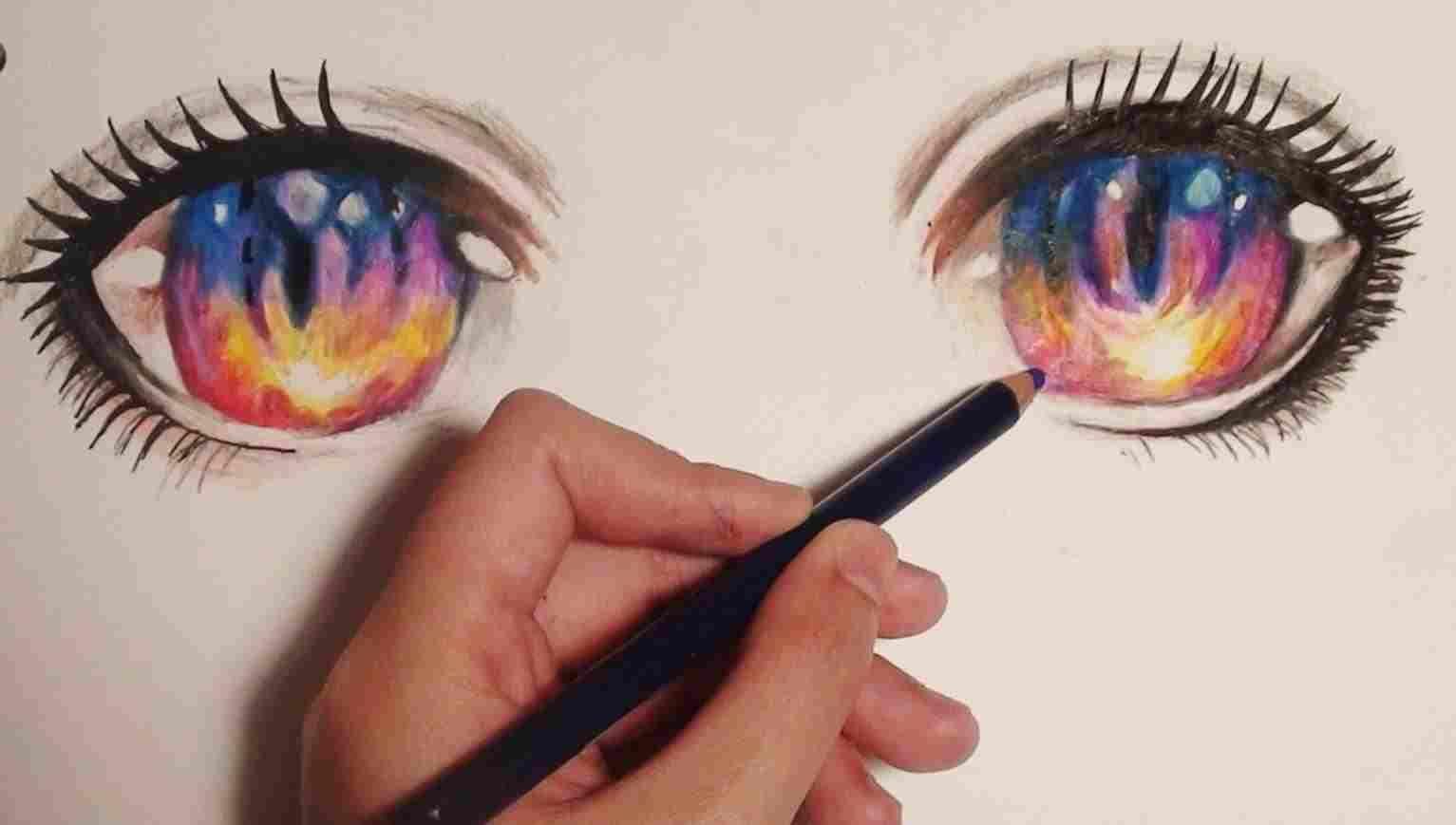 Cute Manga How To Beautiful Rhartsketchescom Draw Anime Eyes