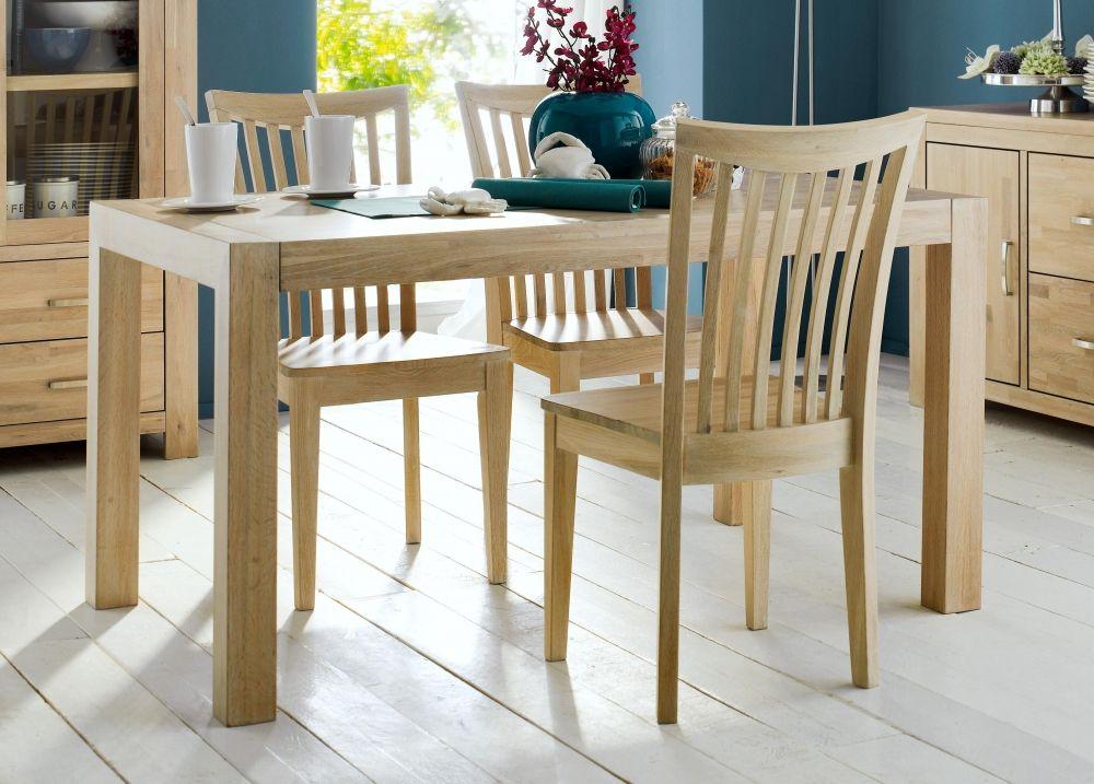 samson massivholz esstisch eiche white wash 180 x 90 cm esszimmer pinterest. Black Bedroom Furniture Sets. Home Design Ideas