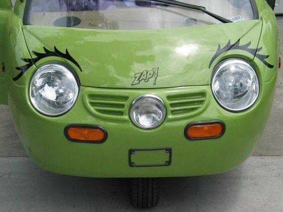 Eyelashes for your VW Beetle Headlamps or Zap Car by tonyabug, $25.00