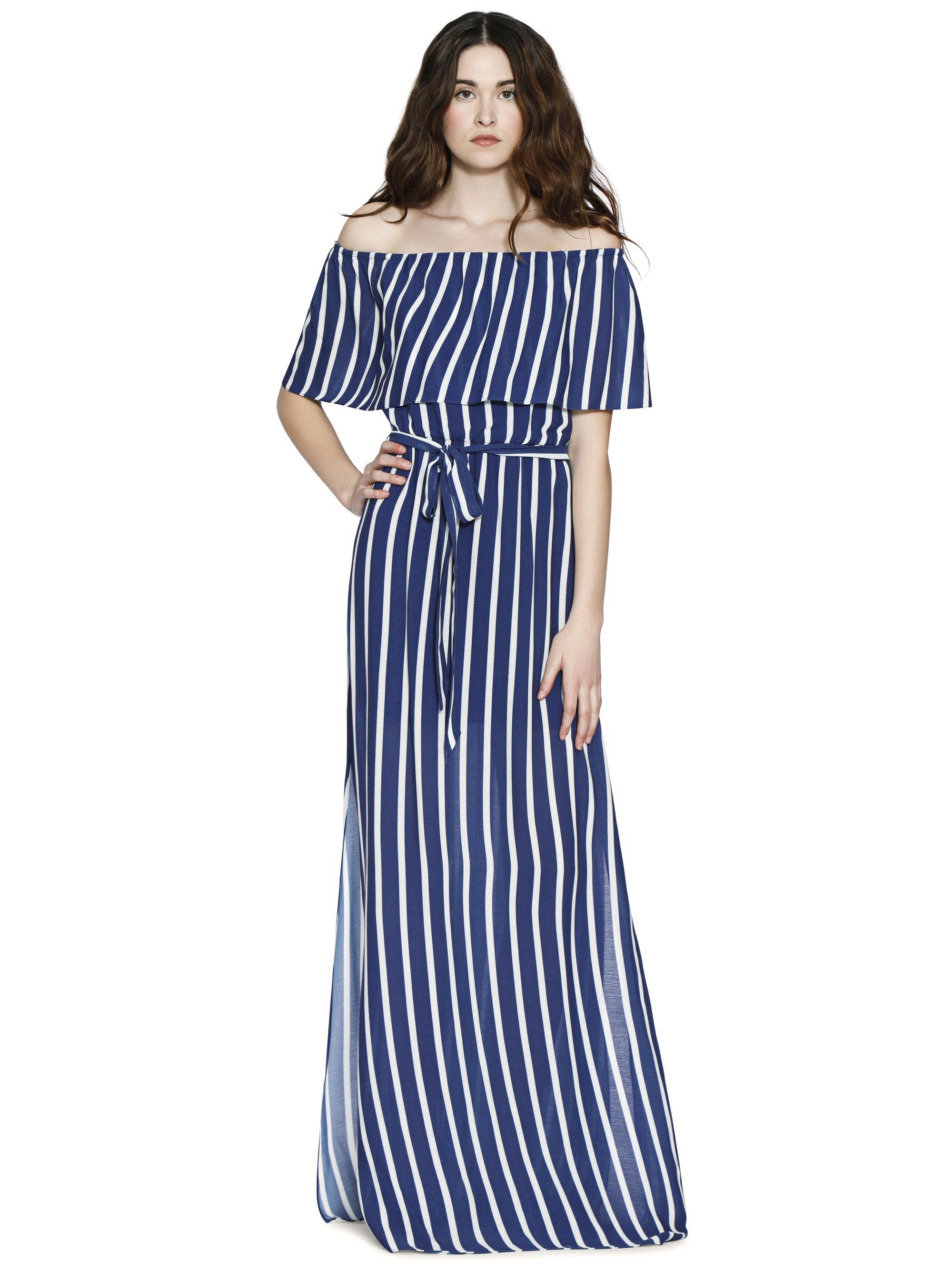 0d259a2bd46 Alice + Olivia Grazi Off Shoulder Maxi Dress With Belt - 10 ...