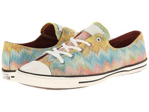 Womens Shoes Converse Chuck Taylor All Star Fancy Ox Missoni Cotton Lurex Citrus Multi