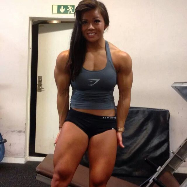 young muscle girl
