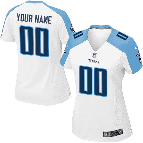 de1fd0df6 Nike Limited White Women s Jersey - Customized Tennessee Titans NFL Road