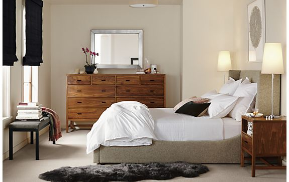 Bedroom Boards Collection marlo bed with berkley collection - bedroom - room & board | home