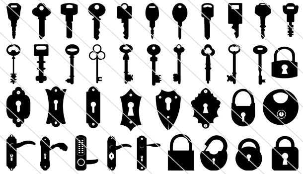 21+ Door lock and key clipart ideas