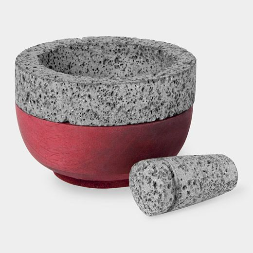 Mortar and Pestle: I've always wanted to get one of these for cooking... No idea why, but someday.