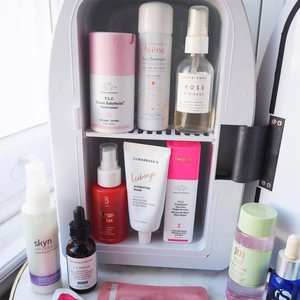 Dermatologists Weigh In On Whether It S Necessary To Store Your Skin Care Products In A Mini Fridge Skincare Skincar In 2020 Skin Care Natural Skin Care Beauty Care