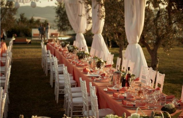 La Bandita Wedding Reception Tuscany Italy Tuscany Italy