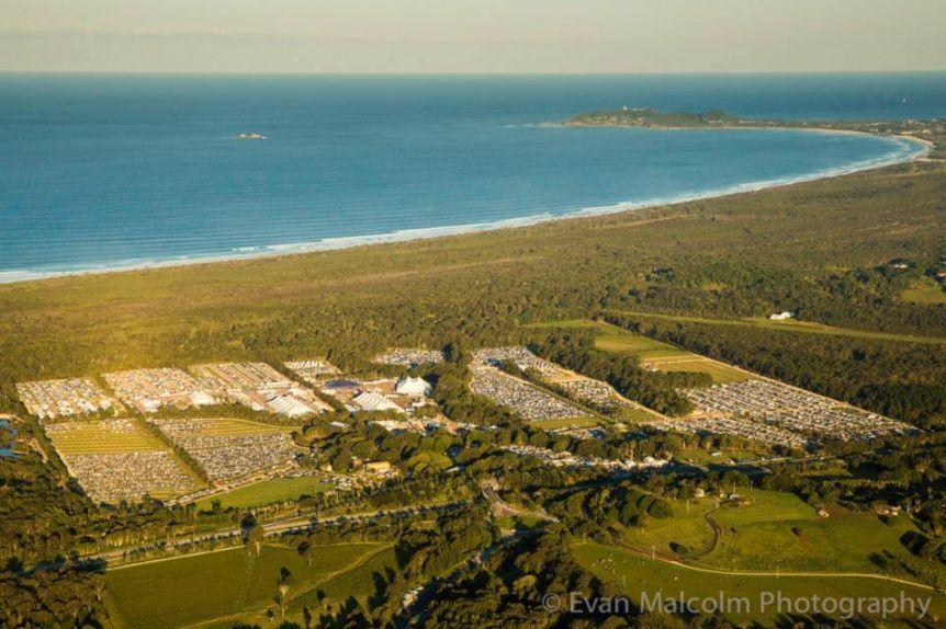 Bluesfest Byron Bay is on a tea tree farm on Byron Bay
