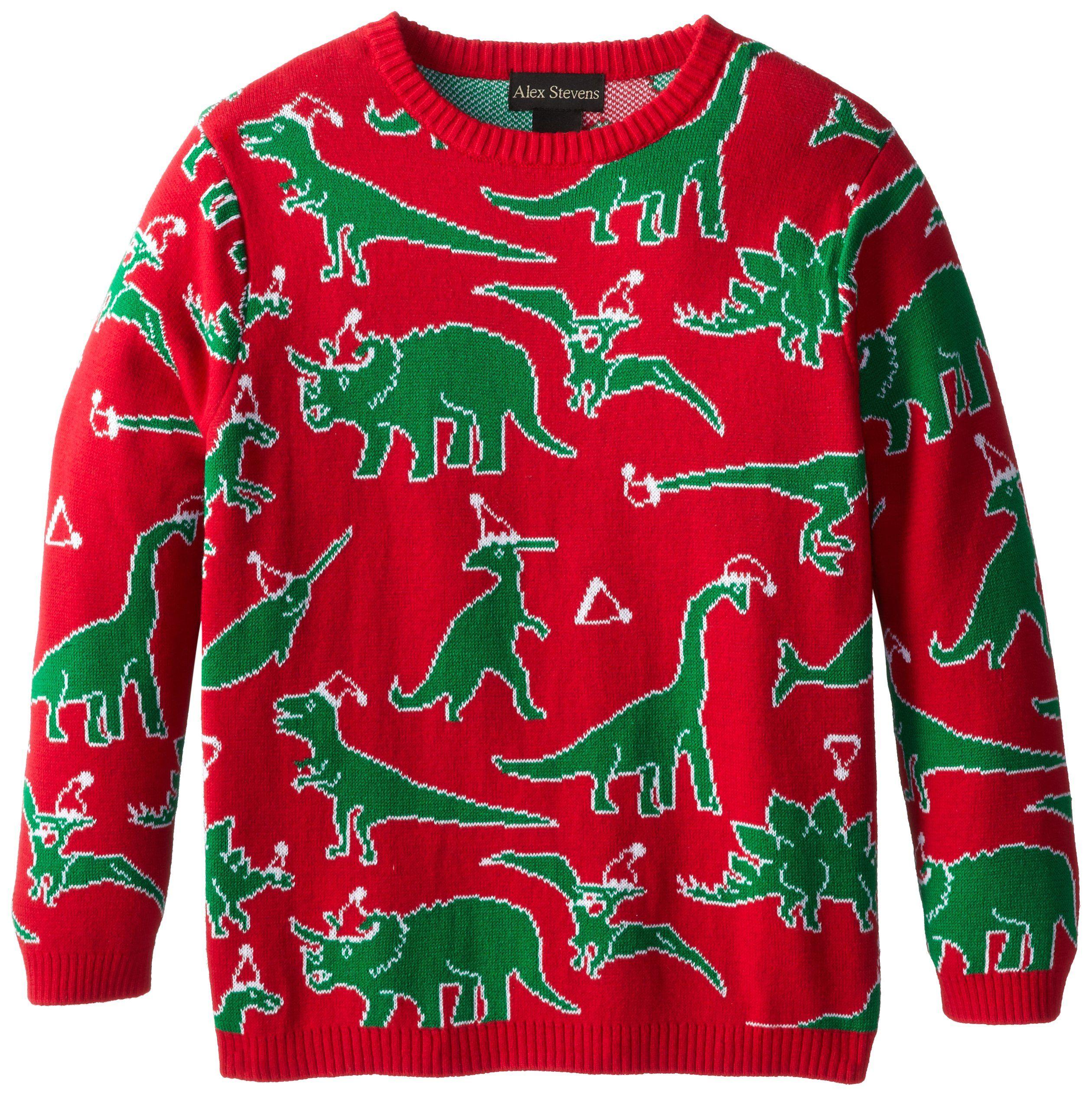 Dinosaur Christmas Sweater.Pin On Christmas Sweater