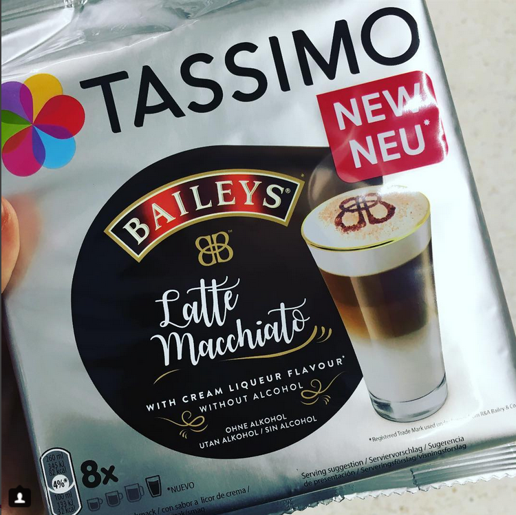 Tassimo Baileys Latte Macchiato Cups Latte Macchiato