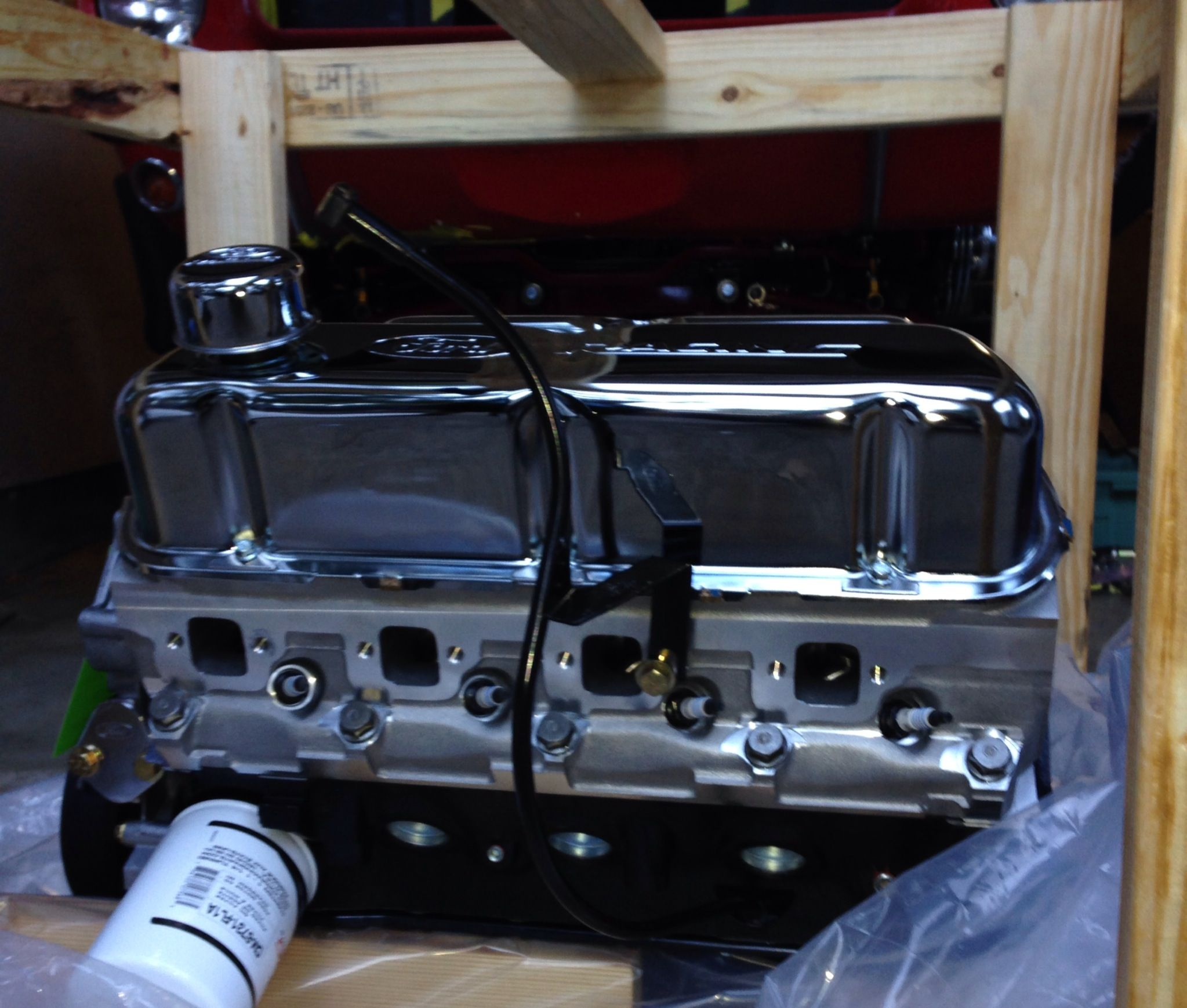 Wow ford racing 302 roller cam aluminum heads crate engine crate engine in the crate malvernweather Gallery