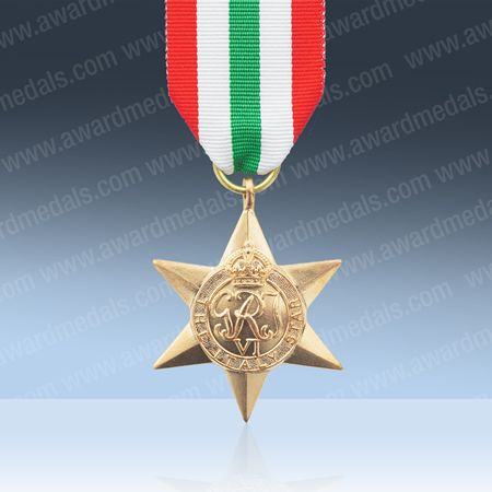 Italy Star Medal | Replica WWII Italian Military Medals