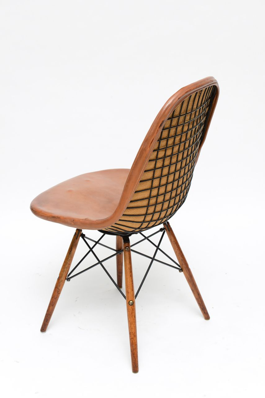 Early eiffel tower chair by charles and ray eames for