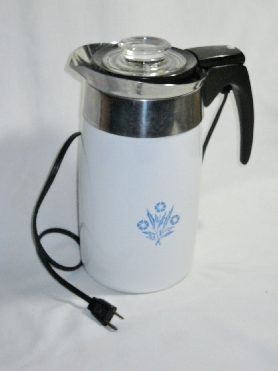 Corning Ware 10 Cup Electric Coffee Pot Complete