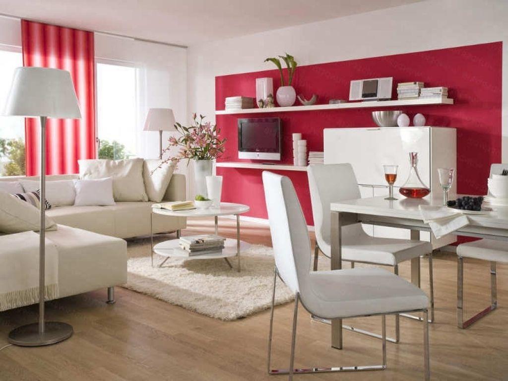 Wohnzimmer Ideen Rot