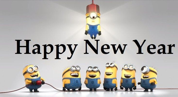Image result for cartoon happy new year 2019