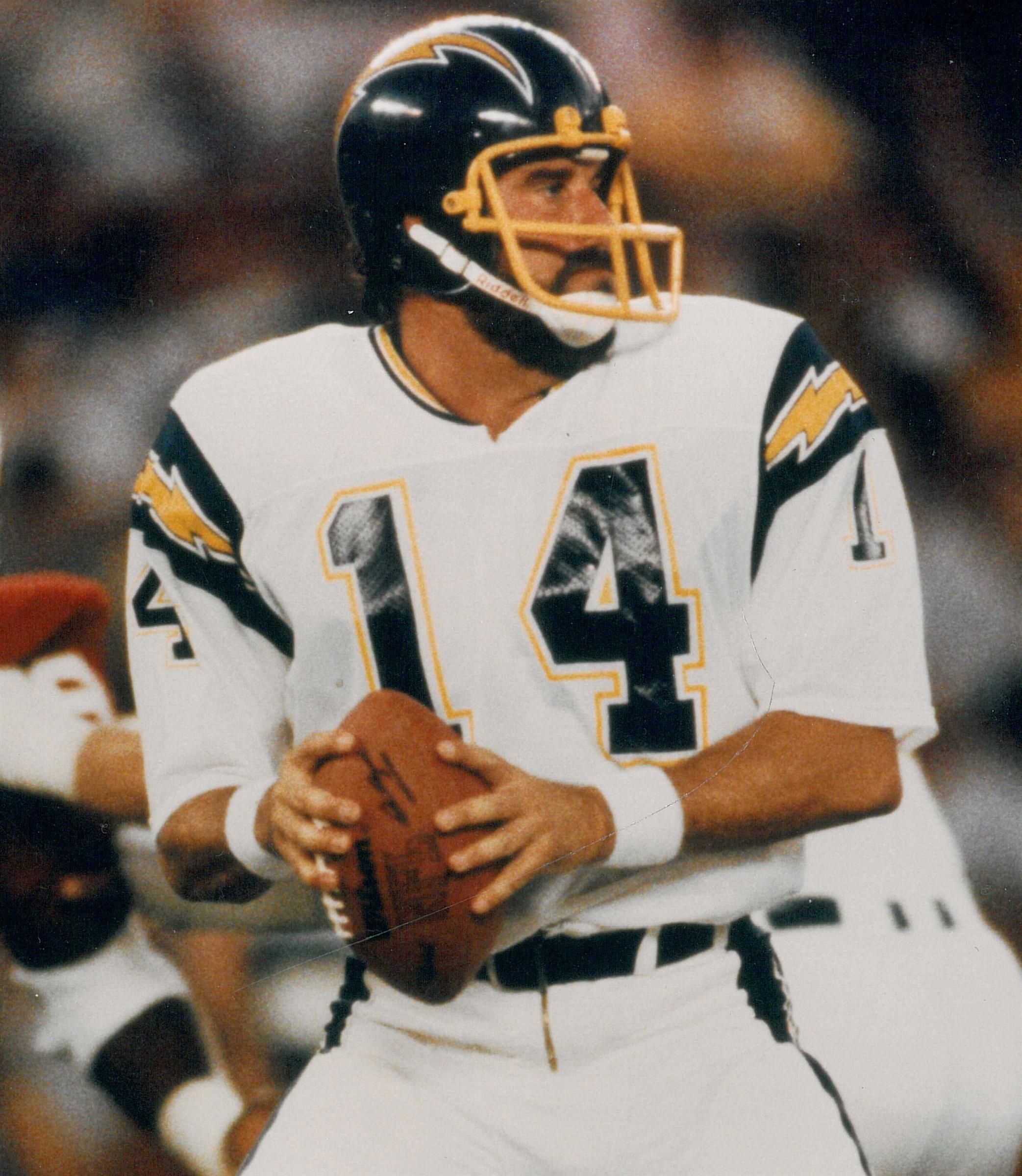 San Diego Chargers Hall Of Fame Players: Dan Fouts Chargers Topp