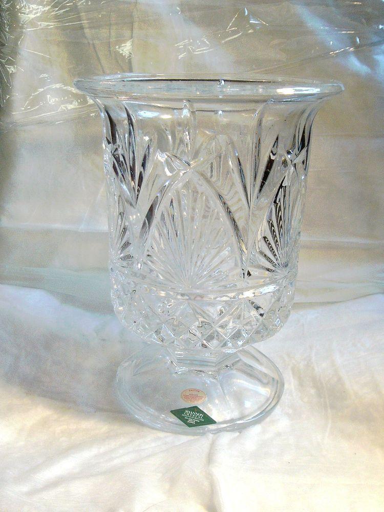 Shannon Crystal Designs Of Ireland 24 Lead Crystal Vase