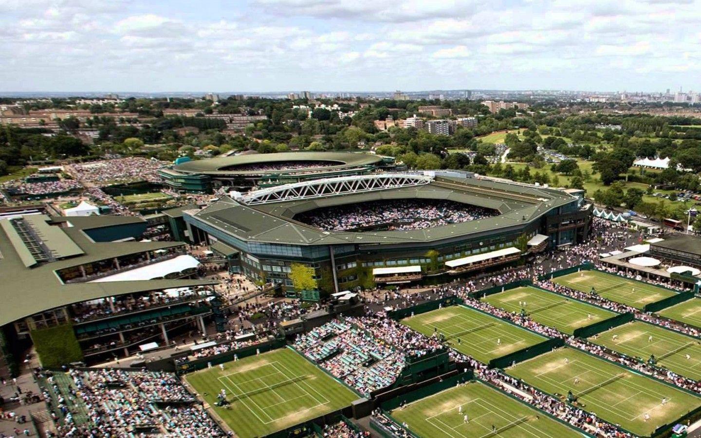 Wimbledon Tennis Stadium London Best Background Hd