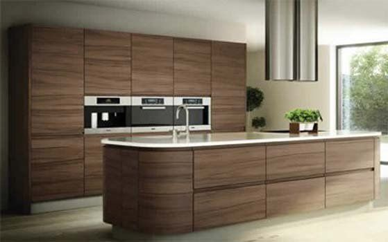 Uber Kitchens Bibury Silk Walnut Cabinets