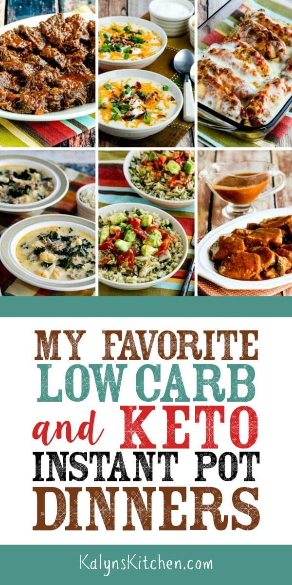 My Favorite Low-Carb and Keto Instant Pot Dinners images