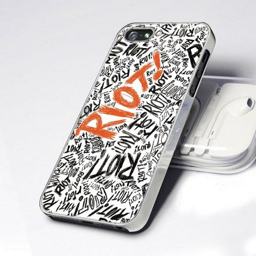 Paramore  Riot Letter 5 design for iPhone 5 Case
