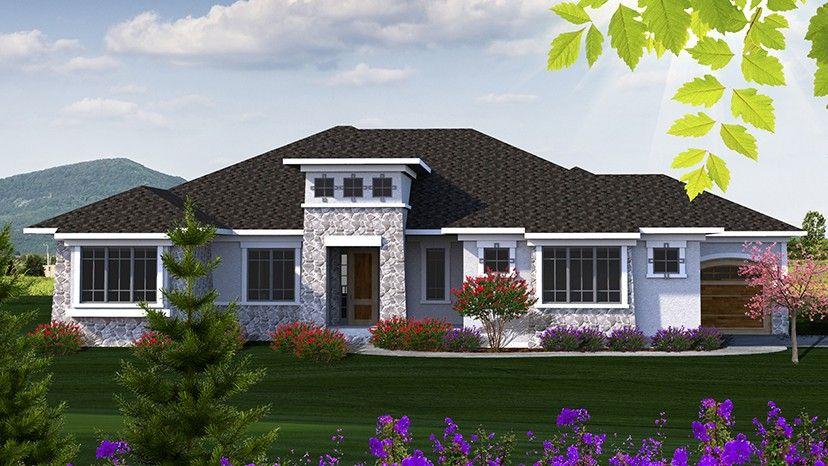 Home Plan HOMEPW77702 - 2507 Square Foot, 2 Bedroom 2 Bathroom +
