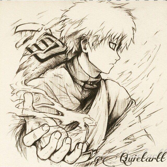 Naruto gaara naruto gaara stopmotion stopmotionanimation youtube anime manga art - Dessin naruto manga ...
