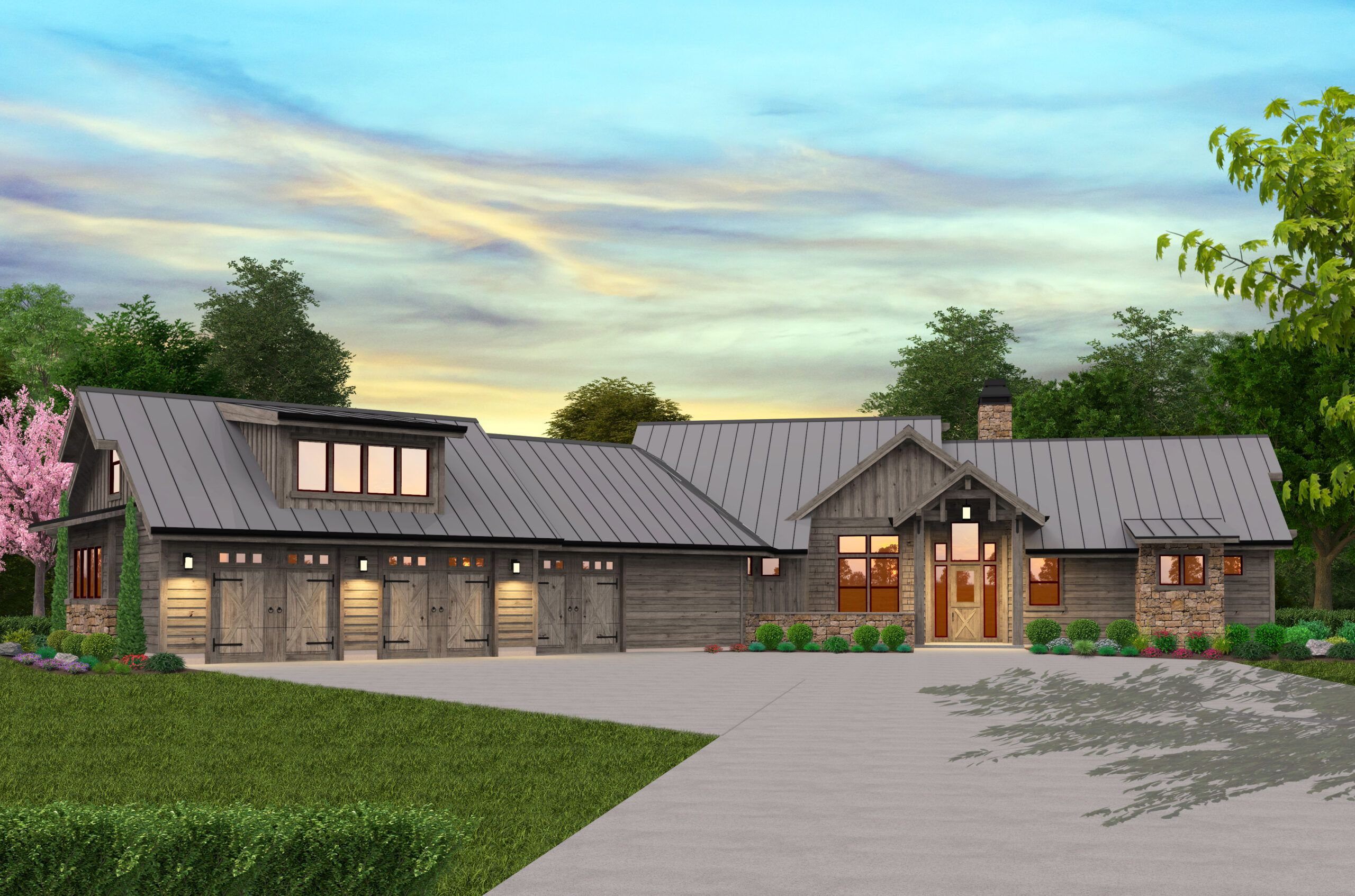 Adirondack Lodge House Plan Modern Lodge Home Design Floor Plan Porch House Plans French Country House Plans Country House Plans