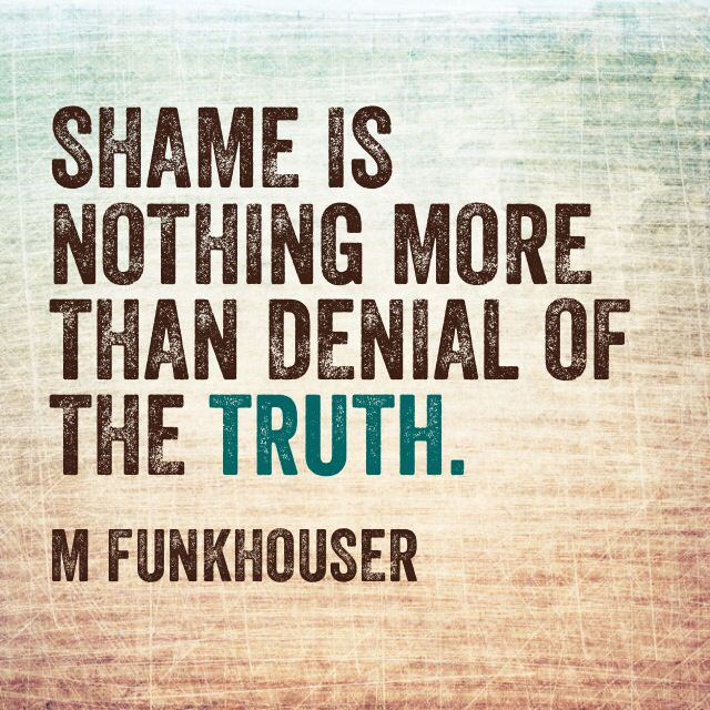 Shame quote