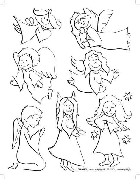 Schutzengel Vorlage Schutzengel Malvorlagen Engel