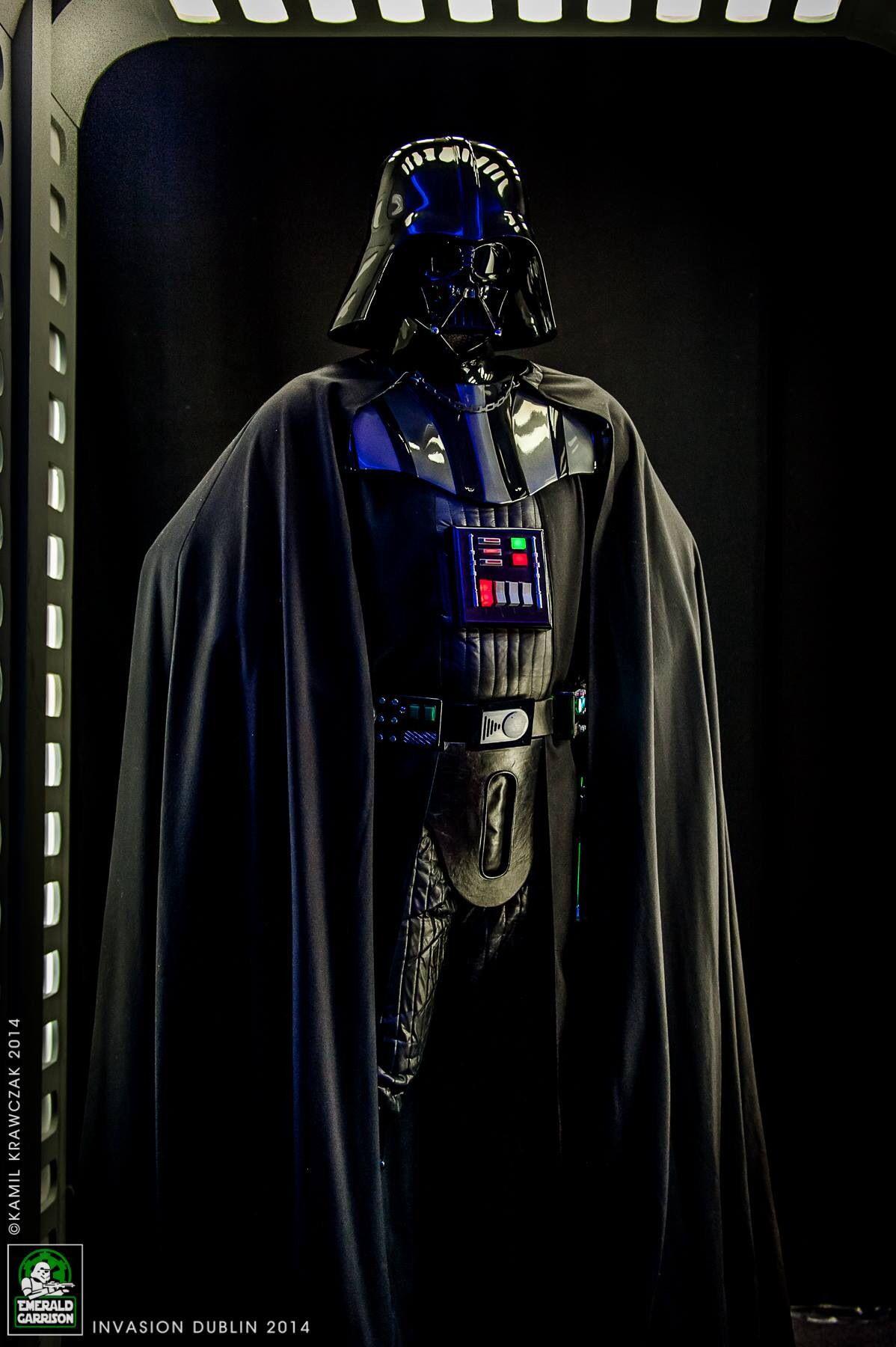 Revenge Of The Sith Darth Vader Costume Worn By Julian Checkley Darth Vader Costumes Darth Vader Dark Lord