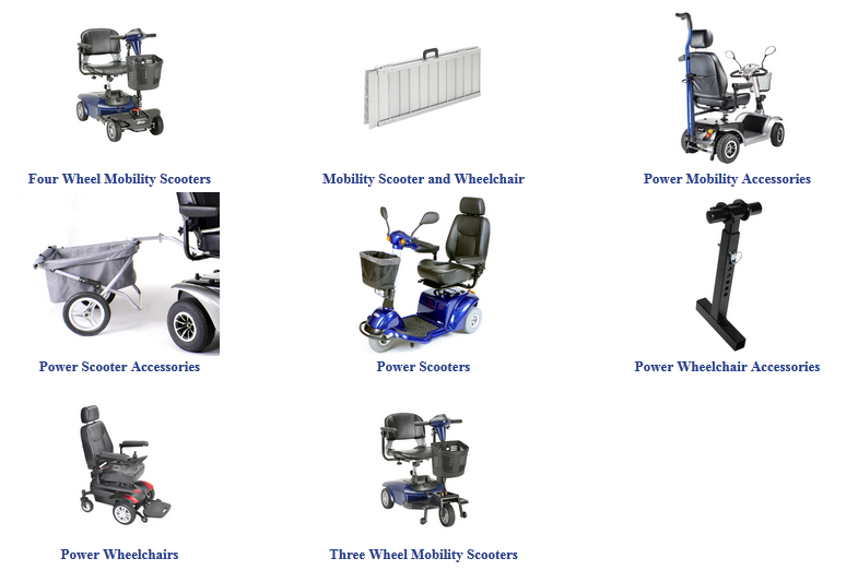 Buy the best power mobility scooters and products like
