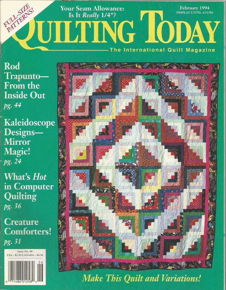 Quilting Today The International Quilt Magazine - February 1994 ... : quilting today magazine - Adamdwight.com