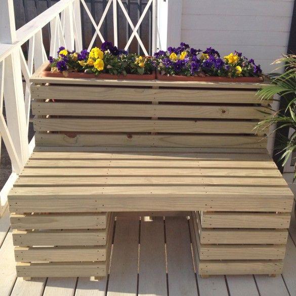 Seater Planter Bench