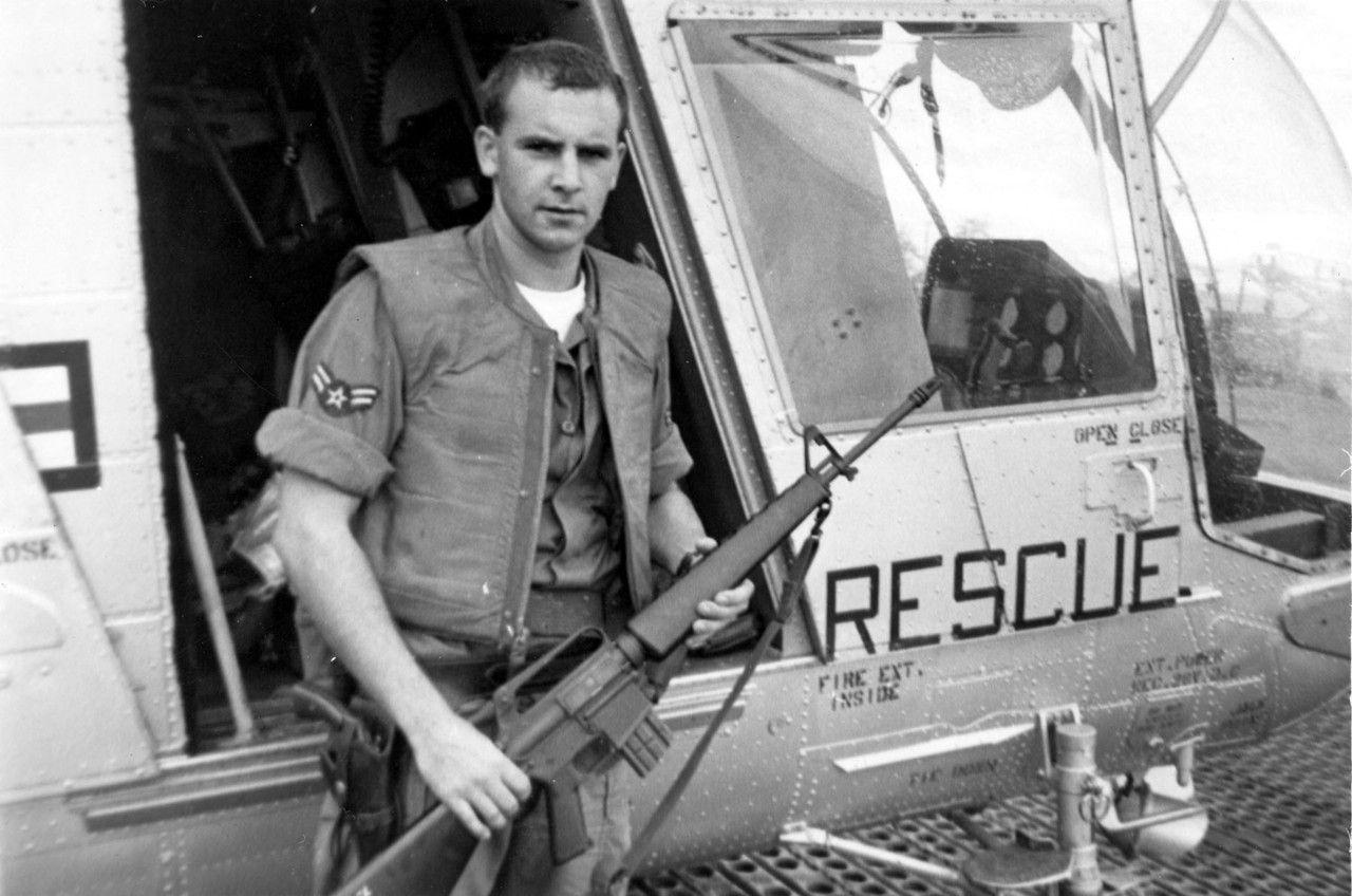 William Hart Pitsenbarger Vietnam war, Usaf pararescue