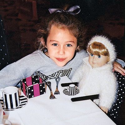 Miley: From Baby to Sweet 16! | miley cyrus baby/little ...