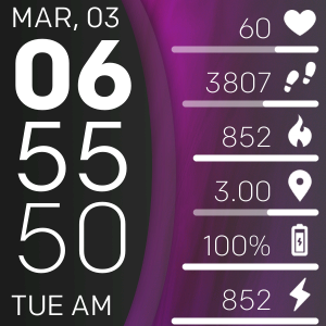 Pin On Fitbit Versa 2 Clock Faces