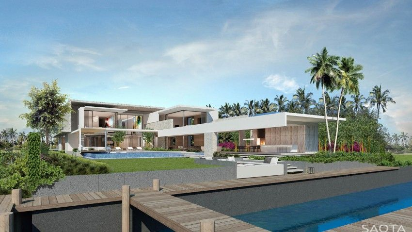 3+ architecture Designs a Contemporary Residence in Crete, Greece ...