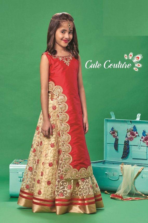 5e90003ef30 Kids girls Indian Pakistani Asian Ethnic by VarshiniCollections ...