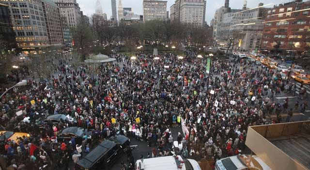 Million Hoodie March In Nyc Trayvon Martin Social Media Nonviolent Protest