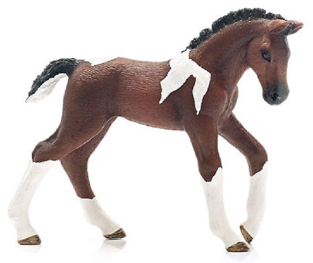 Schleich 13758 Pinto Trakehner Horse Foal Model Toy Figurine - NIP