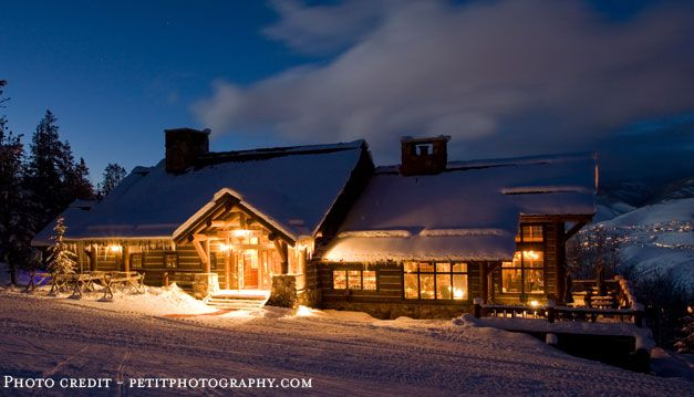 Zachs Cabin Beaver Creek Co Open For Winter Weddings Only