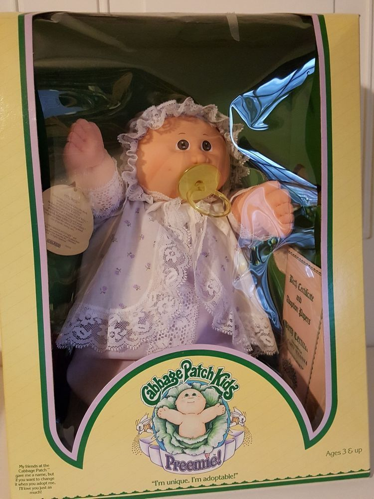 Coleco Cabbage Patch Kids Preemie 1983 Carey Susanna Doll Nib Cabbagepatchkids Cabbage Patch Cabbage Patch Kids Vintage Dolls